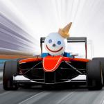 Jack in the Box mascot racing