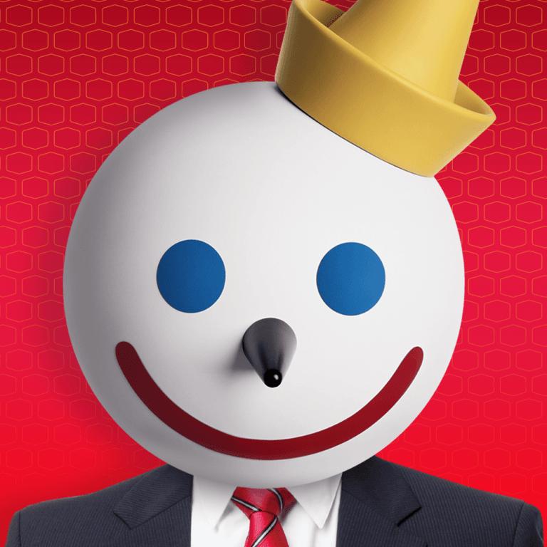 Jack in the Box mascot