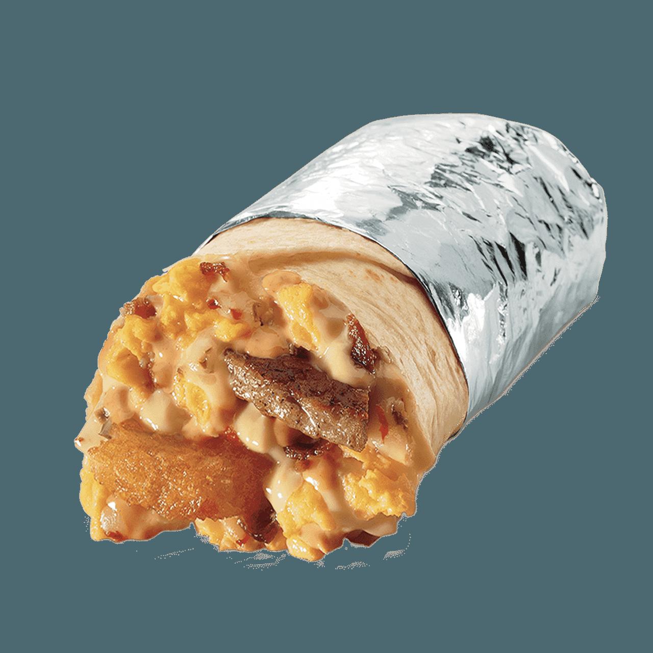 Jack in the Box Grande Sausage Breakfast Burrito