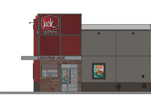 Jack in the Box location concept