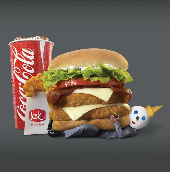 Jack in the Box meal