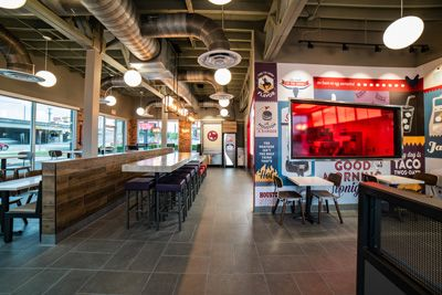inside a Jack in the Box franchise location