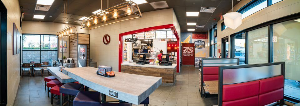 inside a Jack in the Box franchise